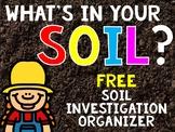 FREEBIE!! Soil Investigation Organizer