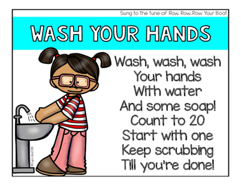 FREEBIE Songs: Wash Your Hands & Take a Sip of Water