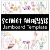 FREEBIE Sonnet Analysis Jamboard