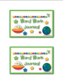 Space Themed Classroom Labels for Journals/Folders