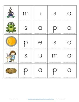 FREE Sample: Centros Foneticos 003: haciendo palabras: Nivel Basico DIGITAL