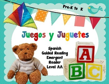 Spanish Guided Reading Toys and Games