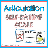 FREEBIE Speech Articulation Self Rating Scale