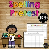 FREEBIE- Spelling Pretest Collection {1st, 2nd, 3rd, 4th, 5th grade}