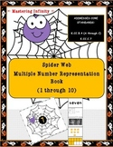 **FREEBIE** Spider Web Multiple Number Representation Book