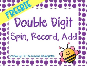 FREEBIE Spin Record Add- Double Digits