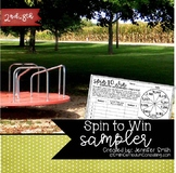 FREEBIE Spin to Win Sampler Pack