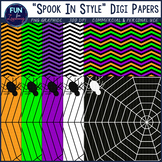 Spook In Style - Halloween Digi Papers