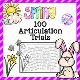 FREE Spring 100 Articulation Trials