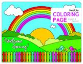FREEBIE Spring Coloring Page