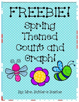FREEBIE Spring Count and Graph