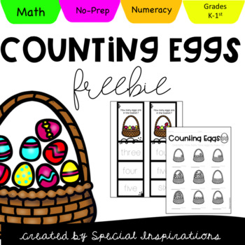 FREEBIE! Spring Counting Eggs (#1-10)