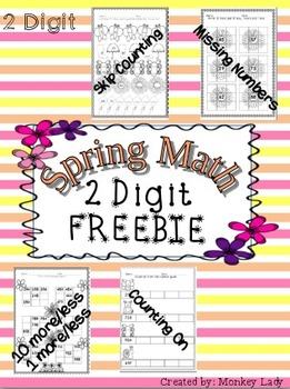 FREEBIE Spring Math Worksheets