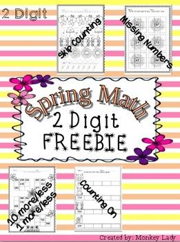 FREEBIE Spring Math Worksheets