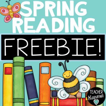 Spring Reading Printables