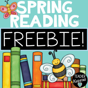 FREEBIE Spring Reading & ELA  * Comprehension * Writing * Grammar