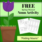 FREEBIE - Spring Themed Noun Activity