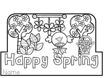 FREEBIE! Spring and Easter Hats