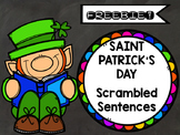 FREEBIE! St. Patrick's Day ELA Scrambled Sentences