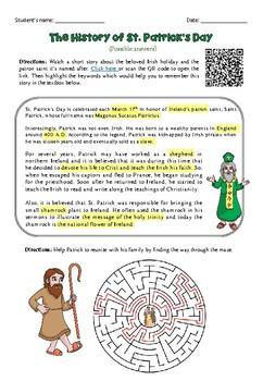 PDF St. Patrick's Day Worksheets