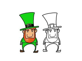 FREEBIE: St. Patrick's Day Leprechaun