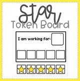 FREEBIE! Star Theme Token Board