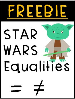 FREEBIE Star Wars Equalities