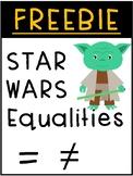 FREEBIE Star Wars Equalities