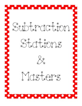 **FREEBIE** Station/Center Binder Covers