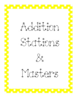 **FREEBIE** Station/Center Binder Covers
