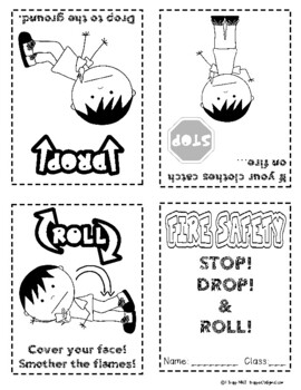 FREEBIE: Stop! Drop! and Roll!  Fire Safety