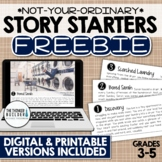 FREEBIE: Story Starters {Not Your Ordinary Writing Prompts!}