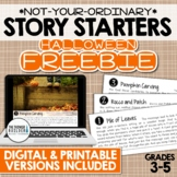 FREEBIE: Story Starters for Halloween {Not Your Ordinary W