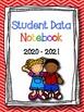 FREEBIE: Student Data Binder Covers