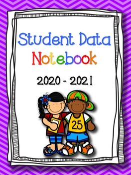 FREEBIE: Student Data Binder Covers