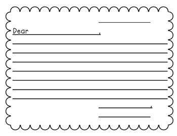 FREEBIE! Student Letter Template & Cover
