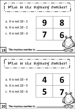 Subtraction Task Cards FREEBIE