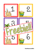 FREEBIE Summer Calendar Cards {ABCC Pattern}