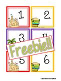 FREEBIE Summer Calendar Cards {ABCC Pattern}