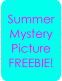 FREEBIE! Summer Mystery Picture (3 digit Addition)