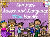 FREEBIE: Summer Speech and Language Mini Bundle
