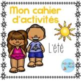 FREEBIE Summer activities/ Cahier d'activités de l'été
