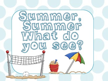 *FREEBIE* Summertime Book