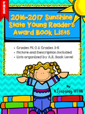 FREEBIE Sunshine State Young Readers Award Book Lists Grades PK-2 & 3-5