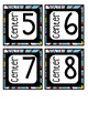 FREEBIE Superhero Themed Center Numbers