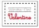 FREEBIE Supply Themed Valentines