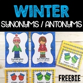 Synonyms and Antonyms Sort  FREEBIE! Help the Children Find Their Mittens