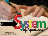 FREEBIE System of Equations Matching Game and Quiz