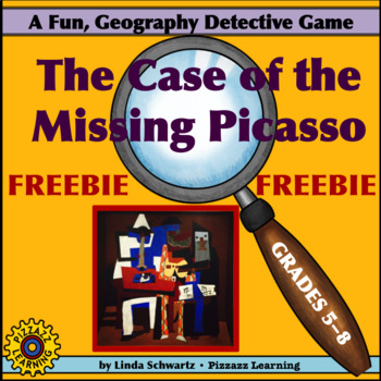 FREEBIE! THE CASE OF THE MISSING PICASSO   • GRADES 5–8