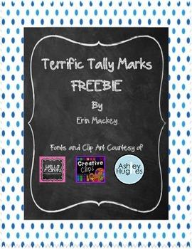 FREEBIE Tally Marks